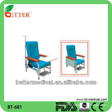 Stahl medizinischer Stuhl / medizinischer Infusionsstuhl