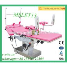 MSLET13M Hochwertige Mehrzweck-Lieferung Bett Geburtshilfe Lieferung mit CE & ISO