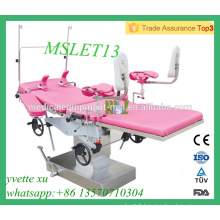 MSLET13M High Quality Multi-purpose delivery bed obstetric delivery bed with CE & ISO