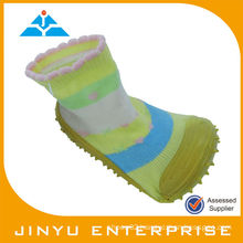 Lovely Soft Sole Baby Sock Shoe