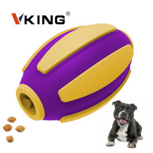 Double layer Rubber Football Pet Chew Dog Toys
