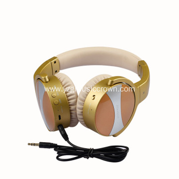 Wireless BT ANC headset noise-cancelling