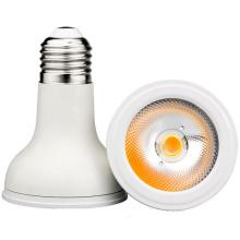 E27 8W SMD / COB PAR20 800lm lâmpada branca do ponto do diodo emissor de luz