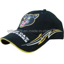 Sombrero de calidad superior del sombrero de béisbol del deporte del emparedado del bordado (TMB9878-1)