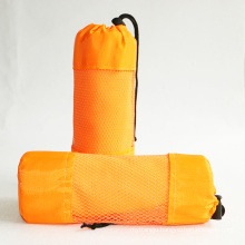 sports yoga swimming cooling microfiber suede towel