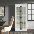 White Style Household Display Storage Cabinets