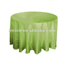 Crinkle-Taft Tischdecke, Tischläufer, Stuhl-Schärpe, Platzdeckchen, Servietten, Stuhlabdeckung