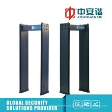 Détecteur de métaux portables de sécurité à sensibilité de niveau 200 pour les stades de sport