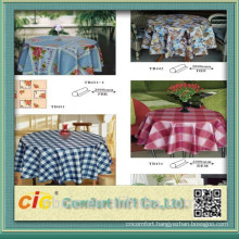 China Top quality Table Cloth Fabric Printed