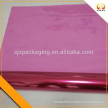 Red PET plastic film for decorative films