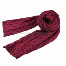 Lady Acrylic Crochet Scarf (GMK20-13)
