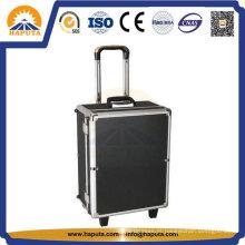 Caixa de ferramenta de alumínio equipamento trole com EVA interno (HT-5201)