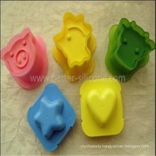 Fashional Cute Shaped Silicone Cake Tray