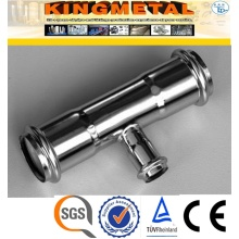 F304/316 Stainless Steel Press Reducing Tee Fittings