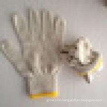 cheap white cotton work hand gloves