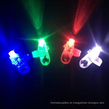 luzes de dedo partido levou para crianças