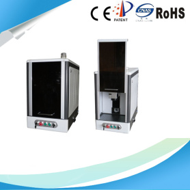 Closed - type portable laser marking machine