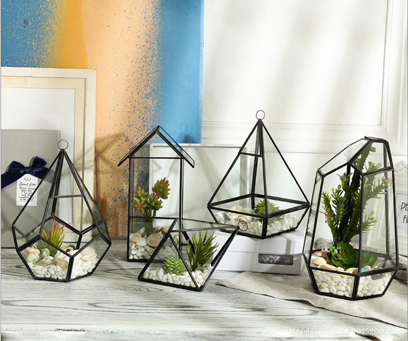 Flowers Micro Landscape Glass Terrarium