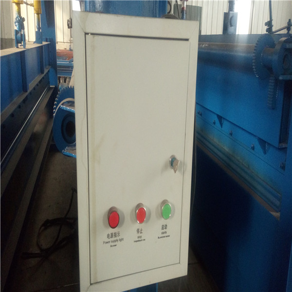 Color Corrugated Steel Sheet Machine