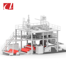 CL-S PP Spunbond Nonwoven Fabric Making PP Machine for Bady Adult Diaper
