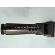 The Flashlight Plastic Cover Injection Mold
