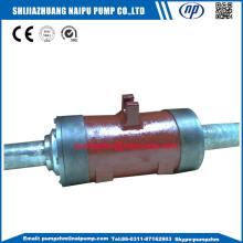 Slurry pump rotor componets