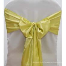 Satin Hochzeit Stuhl Abdeckungen und Schärpen zum Verkauf