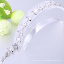 femmes accessoires 2018 bijoux bracelets rhodium bracelet bleu saphir prix