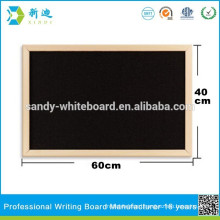 color cork bulletin board with black surface