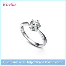 Popular 925 prata esterlina anel de casamento corações e setas zircon anéis de casamento de diamante para a noiva