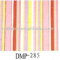 mehr als fünfhundert Muster Baumwolle Stoff Marine weißen Streifen