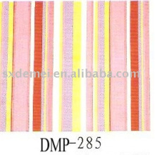 más de quinientos patrones algodón raya blanca de tela azul marino