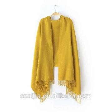Bufanda / mantón de acrílico sólidos del pashmina del nuevo diseño de la manera