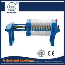 450 Machine de presse-filtre à plaques et cadres de haute qualité