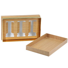 China Supplier Luxury Packaging Custom Rigid Candle Box with candle holder