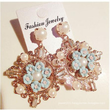 2016 Handmade good Jewelry Gold Plated Earrings For young Girls