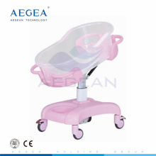 AG-CB011 CE Approved ABS plastic height adjustable bed baby cot