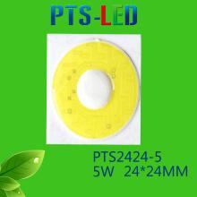 Alta potência 5W/7W/9W/12W/15W/18W/20W COB LED alta qualidade 110V 220V Driverless alimentação CA levou