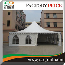 10mX10m luxury party tent with aluminum frame and transparent wall