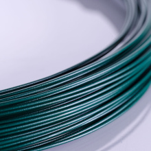 China Supply Green PVC Coated Wire Low Cost