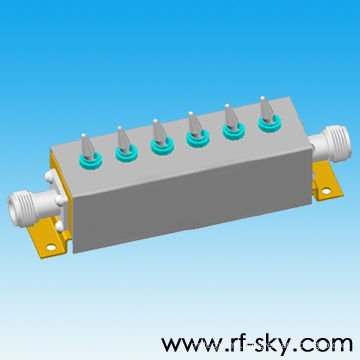 N-K/SMA-K Connector Type 5W rf variable step attenuator