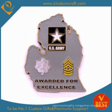 Custom 2D Army Awards Metal Coins of Personalized Honor (LN-076)
