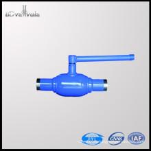 Válvula de bola de soldadura DN50 Válvula de bola estándar PN25 PN40 Fabricante