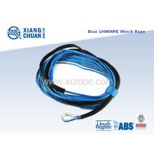 CCS aprobó azul UHMWPE Winch Rope PE cuerda