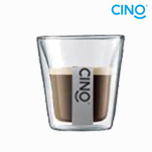 Vaso de vidrio de doble pared de 210ml DG-A-210