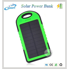 2016 New 5000mAh Solar Power Bank Charger