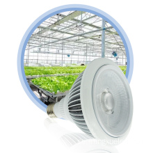 Cob Chip Tri Spectrum LED Grow Ljus 18W Par Lampa