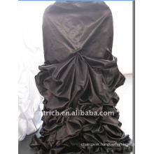 Luxury!!! 2012 black wedding satin chair cover,so fascinating,wedding style