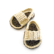 Brown Baby Sandals Crochet Baby Shoes