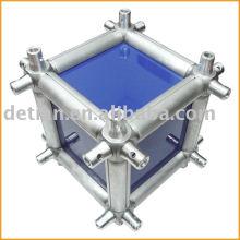 Multicubes, truss connector, aluminum conical coupler truss system